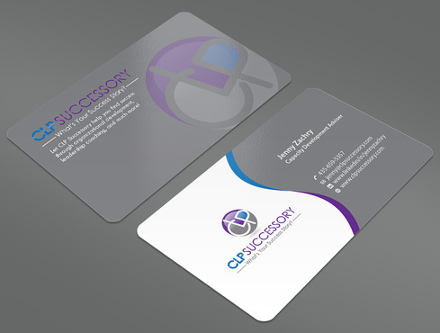 Business card for someone who trains leaders Business Cards and Stationery  Draft # 238 by ArtworksKingdom