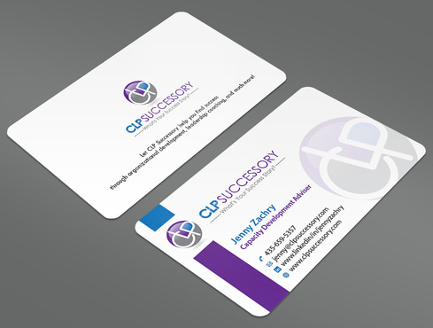 Business card for someone who trains leaders Business Cards and Stationery  Draft # 239 by ArtworksKingdom