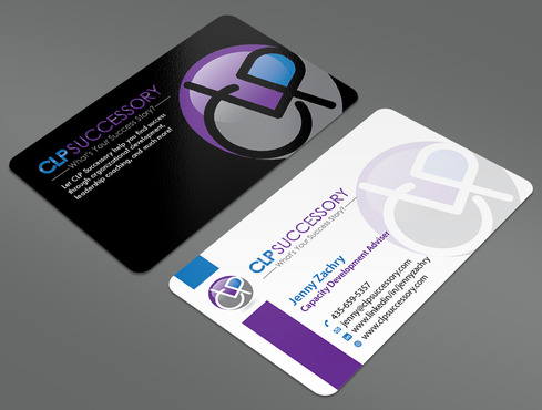Business card for someone who trains leaders Business Cards and Stationery  Draft # 240 by ArtworksKingdom