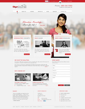 Must be suitable to host classes, receive homework submissions, and sell products Complete Web Design Solution  Draft # 38 by kripa