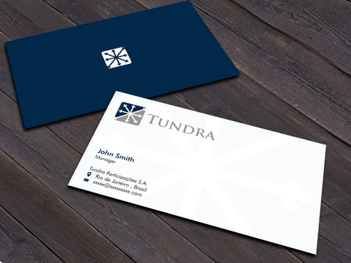 TUNDRA SA Business Card Business Cards and Stationery  Draft # 11 by Xpert
