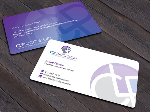 Business card for someone who trains leaders Business Cards and Stationery  Draft # 243 by Xpert