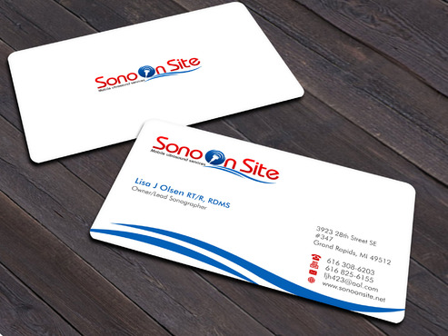 Sono On Site Business Cards and Stationery  Draft # 2 by Xpert