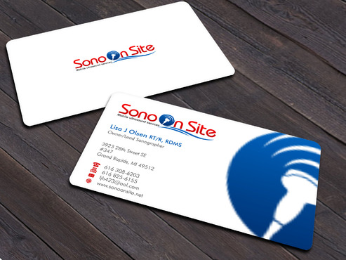 Sono On Site Business Cards and Stationery  Draft # 5 by Xpert