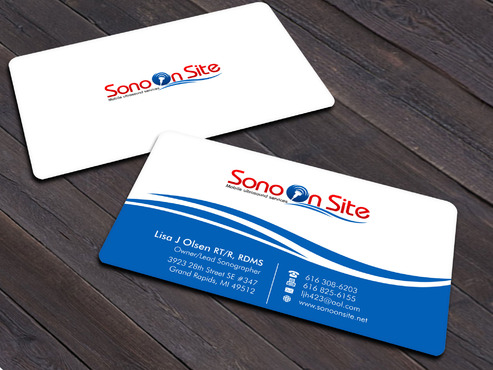 Sono On Site Business Cards and Stationery  Draft # 7 by Xpert
