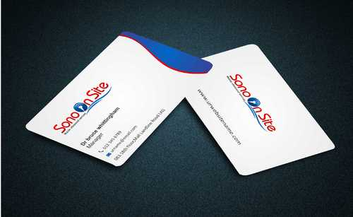 Sono On Site Business Cards and Stationery  Draft # 129 by Dawson