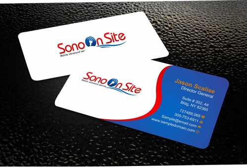 Sono On Site Business Cards and Stationery  Draft # 130 by Dawson