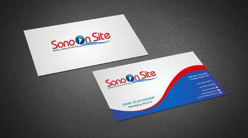 Sono On Site Business Cards and Stationery  Draft # 131 by Dawson