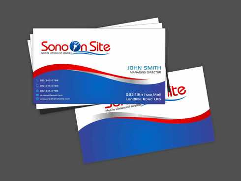 Sono On Site Business Cards and Stationery  Draft # 134 by Dawson
