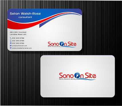 Sono On Site Business Cards and Stationery  Draft # 136 by Dawson