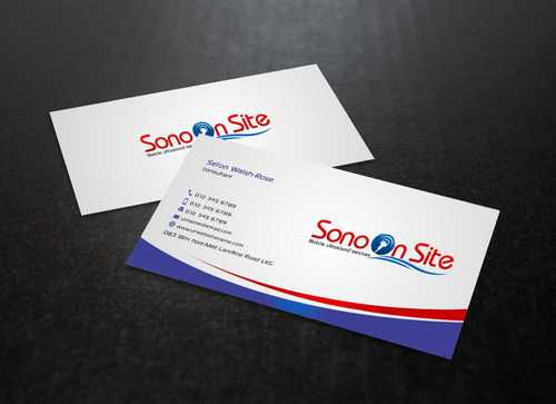 Sono On Site Business Cards and Stationery  Draft # 137 by Dawson