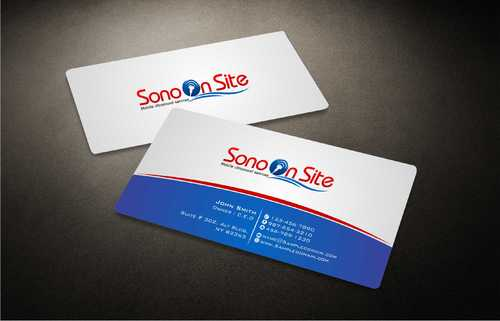 Sono On Site Business Cards and Stationery  Draft # 138 by Dawson