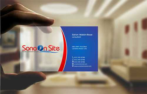 Sono On Site Business Cards and Stationery  Draft # 140 by Dawson