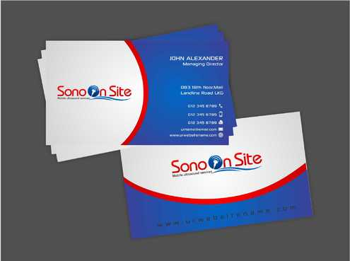Sono On Site Business Cards and Stationery  Draft # 141 by Dawson