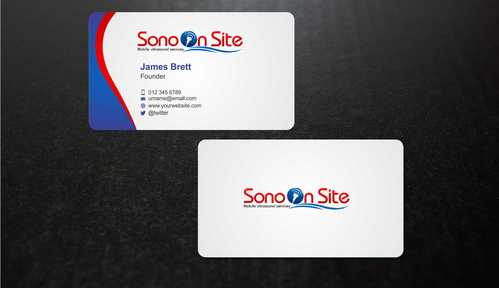 Sono On Site Business Cards and Stationery  Draft # 142 by Dawson