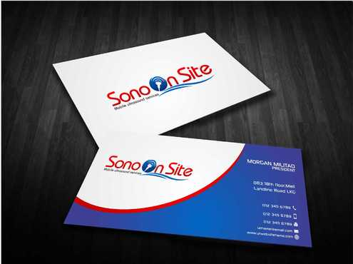 Sono On Site Business Cards and Stationery  Draft # 145 by Dawson