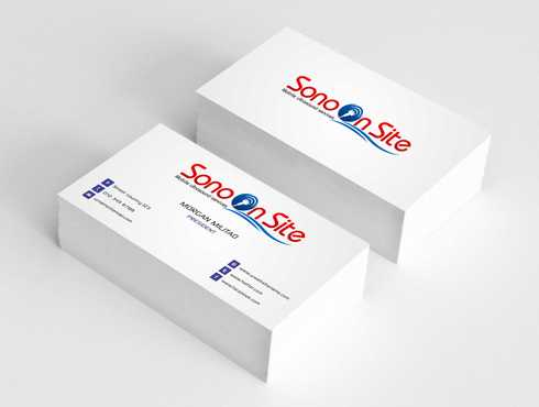 Sono On Site Business Cards and Stationery  Draft # 150 by Dawson