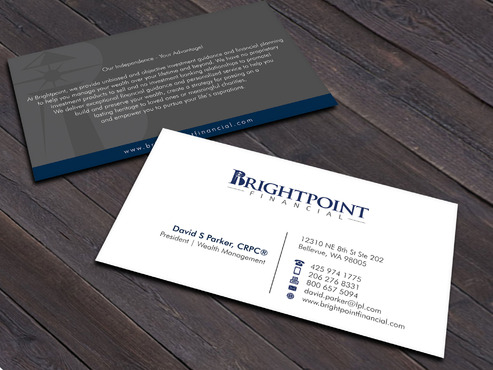Brightpoint Financial Business Cards and Stationery  Draft # 252 by Xpert