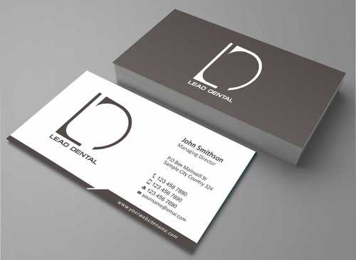 Lead Dental Business Cards and Stationery  Draft # 103 by Dawson