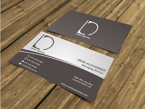 Lead Dental Business Cards and Stationery  Draft # 106 by Dawson