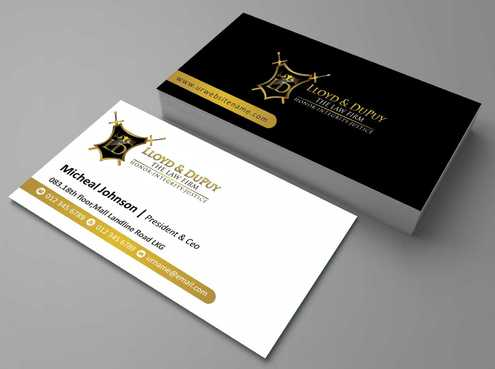 combined with stationery & logo Business Cards and Stationery  Draft # 228 by Dawson