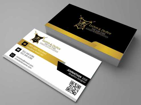 combined with stationery & logo Business Cards and Stationery  Draft # 229 by Dawson