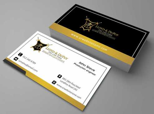 combined with stationery & logo Business Cards and Stationery  Draft # 231 by Dawson
