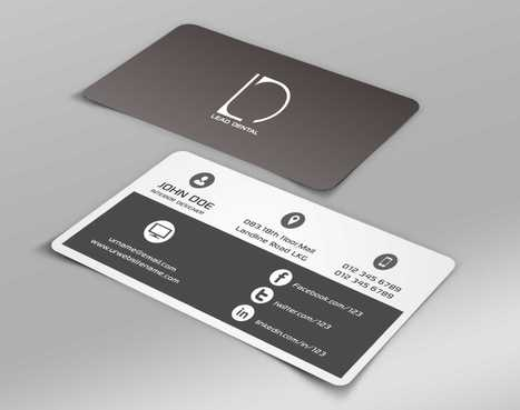 Lead Dental Business Cards and Stationery  Draft # 151 by Dawson