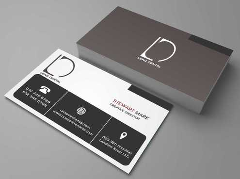 Lead Dental Business Cards and Stationery  Draft # 152 by Dawson