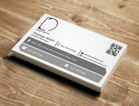 Lead Dental Business Cards and Stationery  Draft # 155 by Dawson