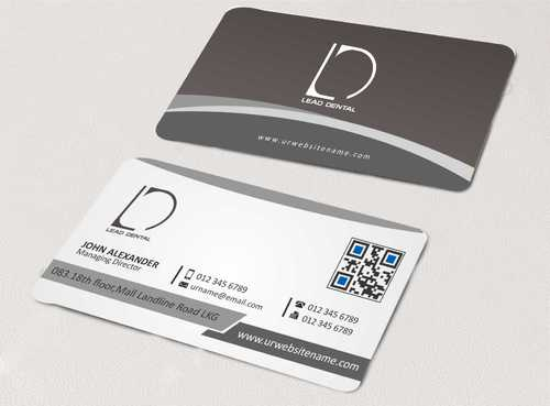 Lead Dental Business Cards and Stationery  Draft # 156 by Dawson