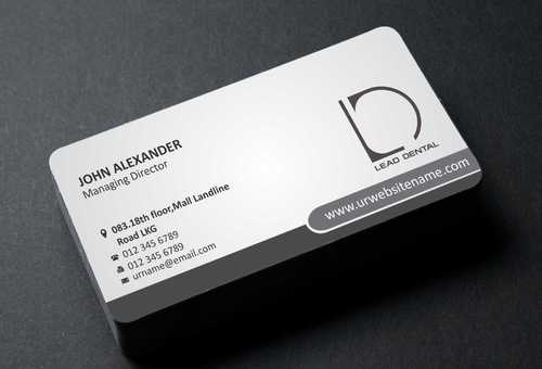 Lead Dental Business Cards and Stationery  Draft # 159 by Dawson