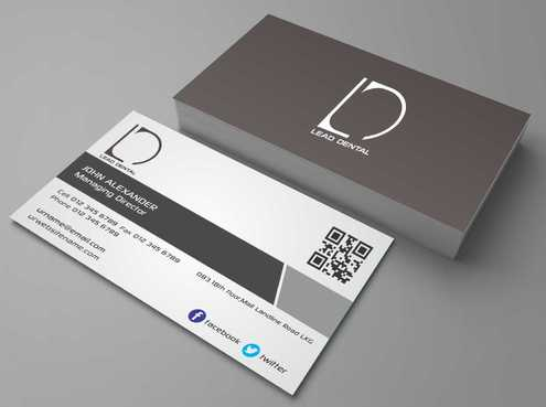 Lead Dental Business Cards and Stationery  Draft # 160 by Dawson
