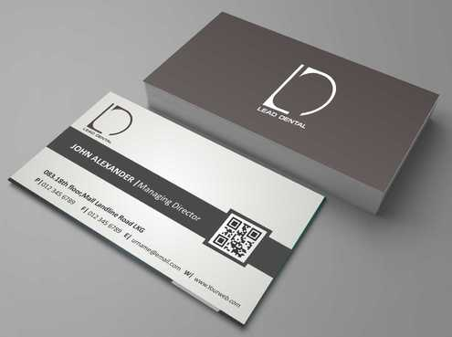Lead Dental Business Cards and Stationery  Draft # 161 by Dawson