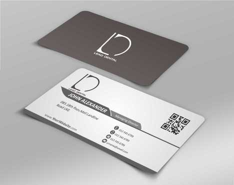 Lead Dental Business Cards and Stationery  Draft # 162 by Dawson