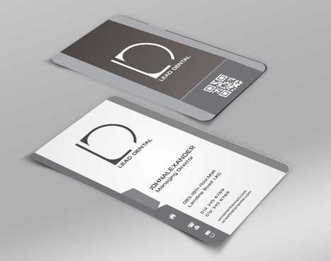 Lead Dental Business Cards and Stationery  Draft # 163 by Dawson