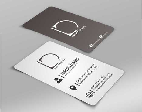Lead Dental Business Cards and Stationery  Draft # 164 by Dawson