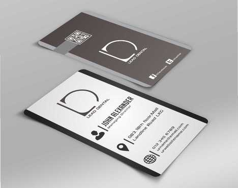 Lead Dental Business Cards and Stationery  Draft # 165 by Dawson