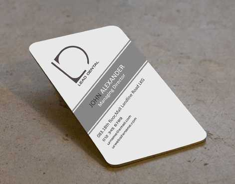 Lead Dental Business Cards and Stationery  Draft # 167 by Dawson