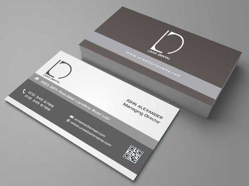 Lead Dental Business Cards and Stationery  Draft # 169 by Dawson