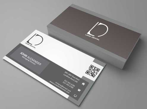 Lead Dental Business Cards and Stationery  Draft # 170 by Dawson