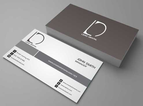 Lead Dental Business Cards and Stationery  Draft # 178 by Dawson
