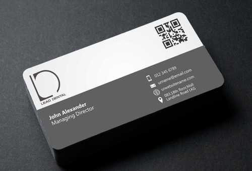 Lead Dental Business Cards and Stationery  Draft # 179 by Dawson