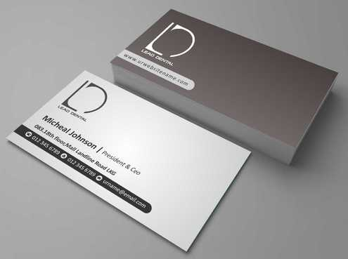 Lead Dental Business Cards and Stationery  Draft # 180 by Dawson