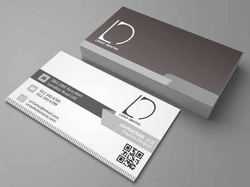 Lead Dental Business Cards and Stationery  Draft # 181 by Dawson