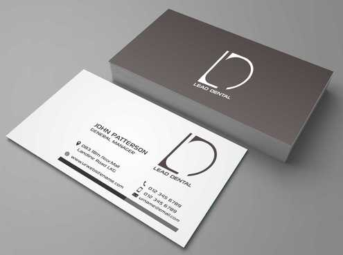 Lead Dental Business Cards and Stationery  Draft # 182 by Dawson