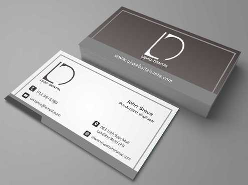Lead Dental Business Cards and Stationery  Draft # 183 by Dawson