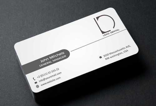 Lead Dental Business Cards and Stationery  Draft # 185 by Dawson