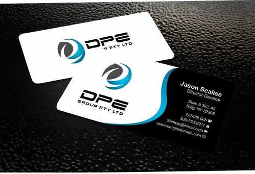DPE GROUP PL Business Cards and Stationery  Draft # 214 by Dawson