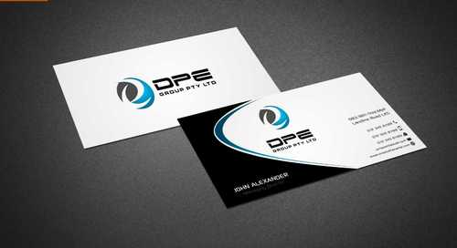 DPE GROUP PL Business Cards and Stationery  Draft # 216 by Dawson